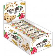Батончик «Cornline» из цельных злаков с клюквой и воздушным рисом, 30 г (упаковка 18 шт)