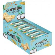Батончик «Cornline» из цельных злаков с кокосом и воздушным рисом, 30 г (упаковка 18 шт)
