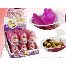 """Яйцо/десерт """"Чилдрен Принцесса"""" с игрушкой Блок 24шт. Вес 15гр."""