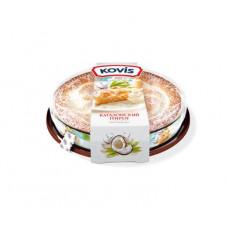 """Kovis - Каталонский пирог """"Кокосовый крем"""" Вес 400 гр."""
