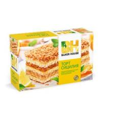 """Baker House - Бисквитный торт """"Сицилия"""" Вес 350 гр."""