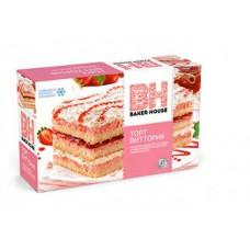 "Baker House - Бисквитный торт ""Виттория"" Вес 350 гр."