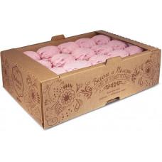 Зефир с малиной (коробка 1 кг) Яшкино