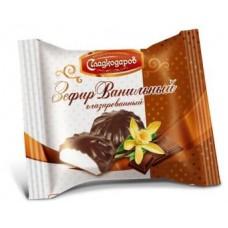 Ванильный зефир в шоколаде. фас. 40 гр. Самара